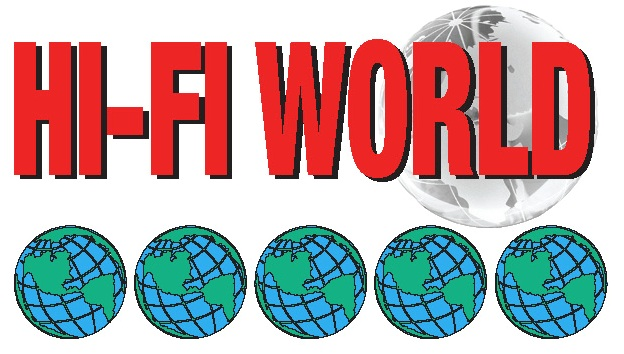 HIFI World 5 Globe Logo